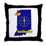 ILY Indiana Throw Pillow