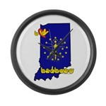 ILY Indiana Large Wall Clock