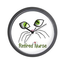 Retired Nurse Wall Clock