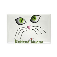 Retired Nurse Rectangle Magnet (100 pack)