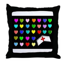 Nurse XXX Throw Pillow