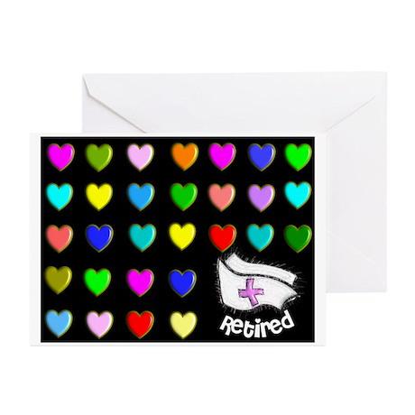 Retired Nurse Greeting Cards (Pk of 20)