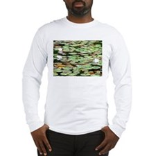 Lily Pad Garden Long Sleeve T-Shirt
