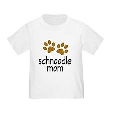 Cute Schnoodle Mom T