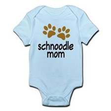 Cute Schnoodle Mom Infant Bodysuit