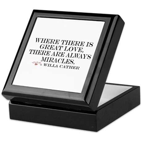 Love &amp; Miracles Keepsake Box