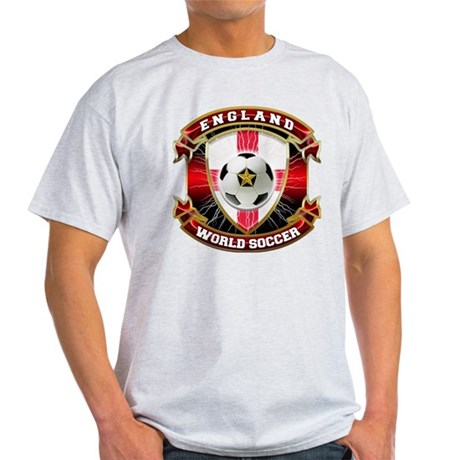 England Soccer Power Light T-Shirt