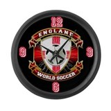 England Soccer Power Large Wall Clock