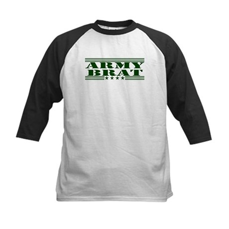 Army Brat Kids Baseball Jersey