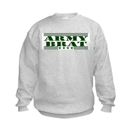 Army Brat Kids Sweatshirt