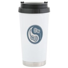 Yin-Yang Guitars IV Ceramic Travel Mug