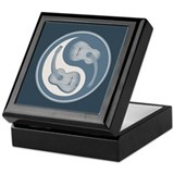 Yin-Yang Guitars IV Keepsake Box