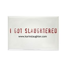 Funny Slaughter Rectangle Magnet