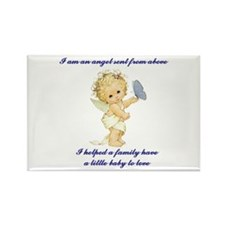 Cute Baby kids family Rectangle Magnet