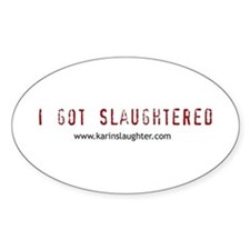 Cute Crime fiction Decal