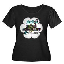 April Autism Awareness 2014 Plus Size T-Shirt
