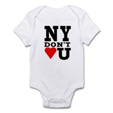 New York Don't Love You Infant Bodysuit
