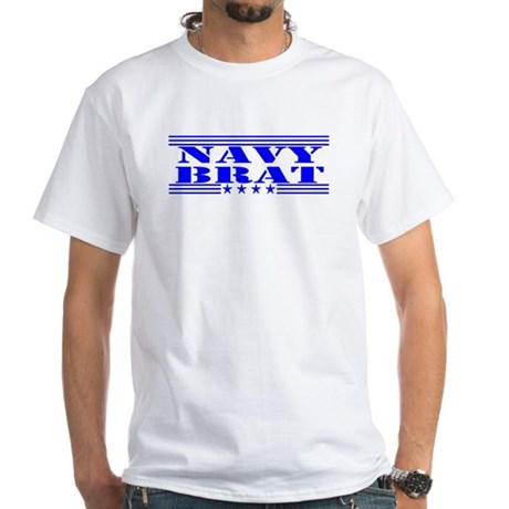 United States Navy White T-Shirt
