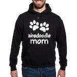 Cute Airedoodle Mom Hoodie (dark)