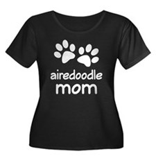 Cute Airedoodle Mom T