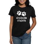 Cute Airedoodle Mom Women's Dark T-Shirt
