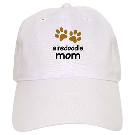 Cute Airedoodle Mom Cap