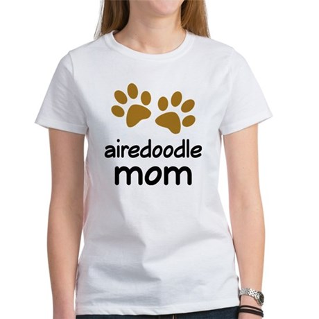 Cute Airedoodle Mom Women's T-Shirt