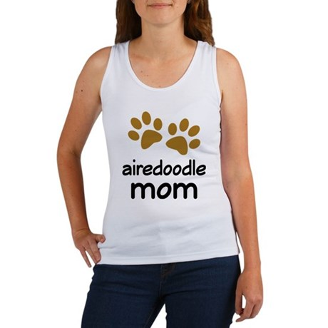Cute Airedoodle Mom Women's Tank Top