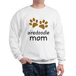Cute Airedoodle Mom Sweatshirt
