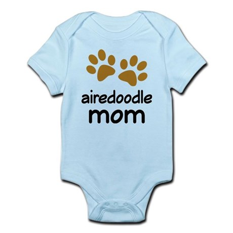 Cute Airedoodle Mom Infant Bodysuit