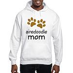 Cute Airedoodle Mom Hooded Sweatshirt