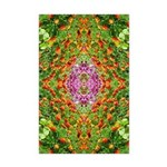 Flower Garden Carpet 4 Mini Poster Print