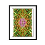 Flower Garden Carpet 4 Framed Panel Print