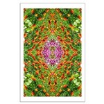 Flower Garden Carpet 4 Large Poster