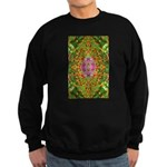 Flower Garden Carpet 4 Sweatshirt (dark)