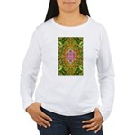 Flower Garden Carpet 4 Women's Long Sleeve T-Shirt