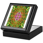 Flower Garden Carpet 4 Keepsake Box