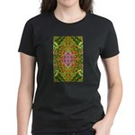Flower Garden Carpet 4 Women's Dark T-Shirt