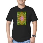 Flower Garden Carpet 4 Men's Fitted T-Shirt (dark)