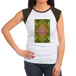 Flower Garden Carpet 4 Women's Cap Sleeve T-Shirt