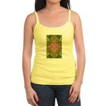 Flower Garden Carpet 4 Jr. Spaghetti Tank