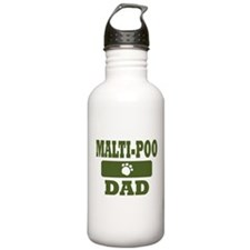 Malti-Poo Dad Water Bottle