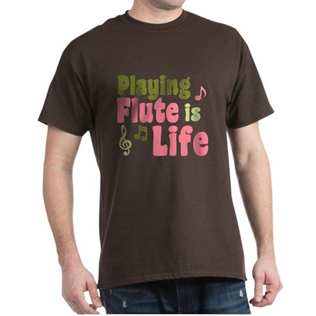Flute is Life Dark T-Shirt