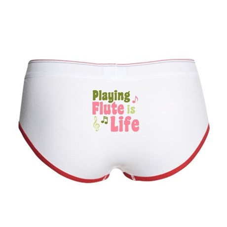 Flute is Life Women's Boy Brief