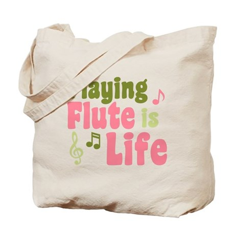 Flute is Life Tote Bag