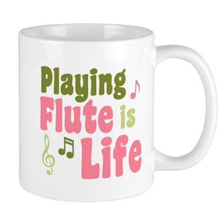 Flute is Life Mug