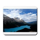 Brilliant Blue Lake Mousepad