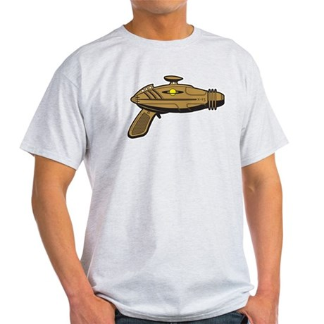 Brown Ray Gun Light T-Shirt