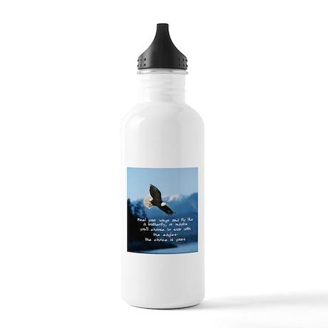 Soar like an Eagle Stainless Water Bottle 1.0L