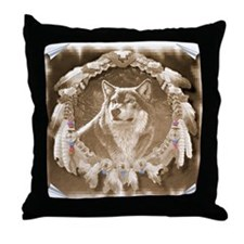 Cool American indian Throw Pillow
